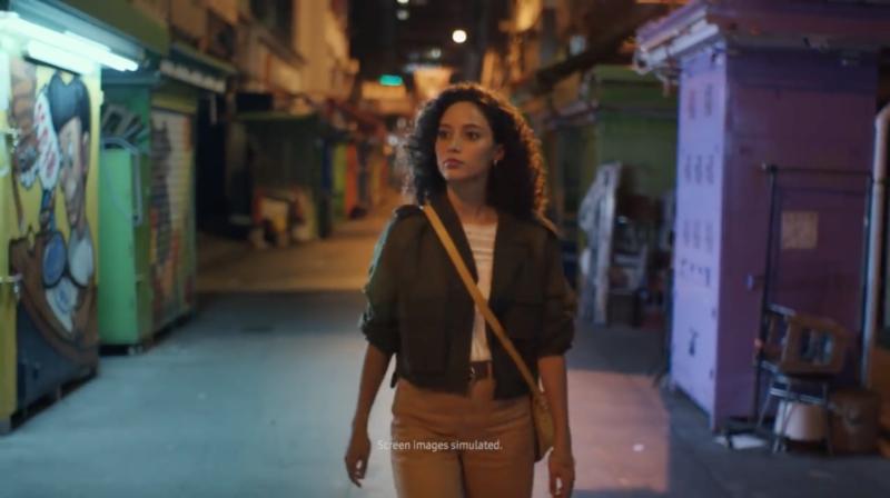 Twenty2 Production shoot Samsung Galaxy S9 advertising in Hong Kong