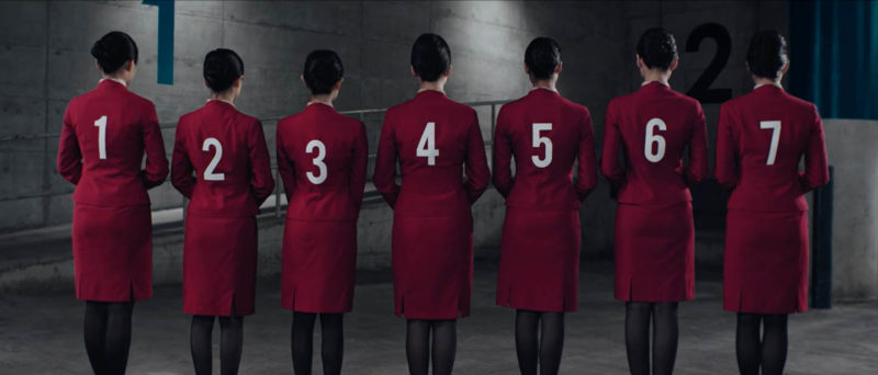 Shoot Cathay Pacific rugby seven advertisement