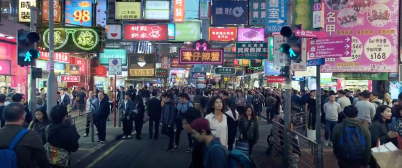 Twenty2 Production shoot Samsung Galaxy S8 adverting in Hong Kong